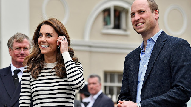 Książę William i Księżna Kate na oficjalnym uruchomieniu King's Cup Regatta w Greenwich