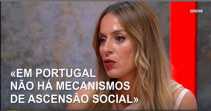 Joana Amaral Dias: Aquilo que mais me inquieta na sociedade portuguesa