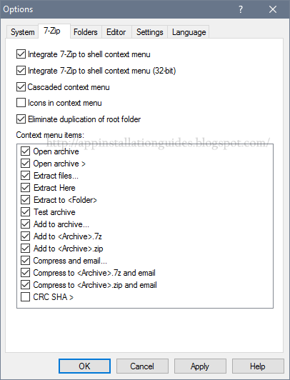 How to install 7-Zip on Windows 10