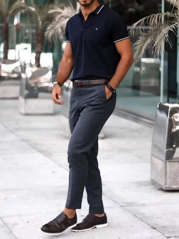 Polo t-shirt outfit