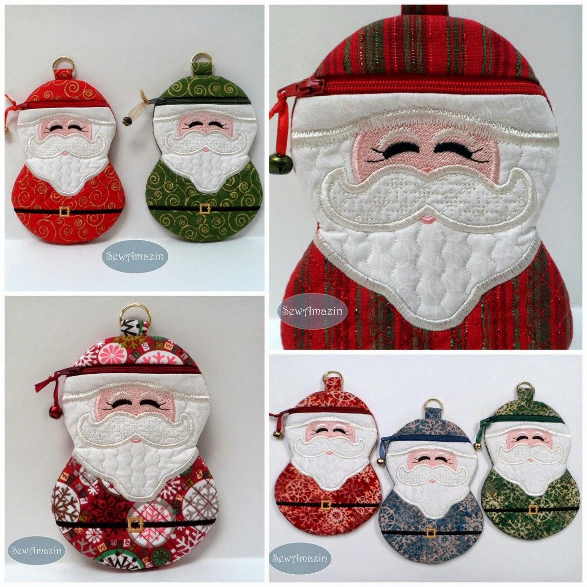 SewAmazin's Studio: Santa Claus Cases