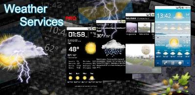 မိမိဖုန္းထဲမွာ ရာသီဥတုကိုၾကည့္မယ္ - Weather Services PRO v4.0 APK
