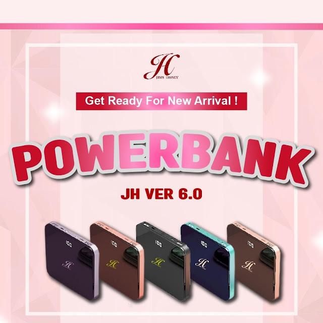 Jims Honey Powerbank 10000 mAh versi 6.0