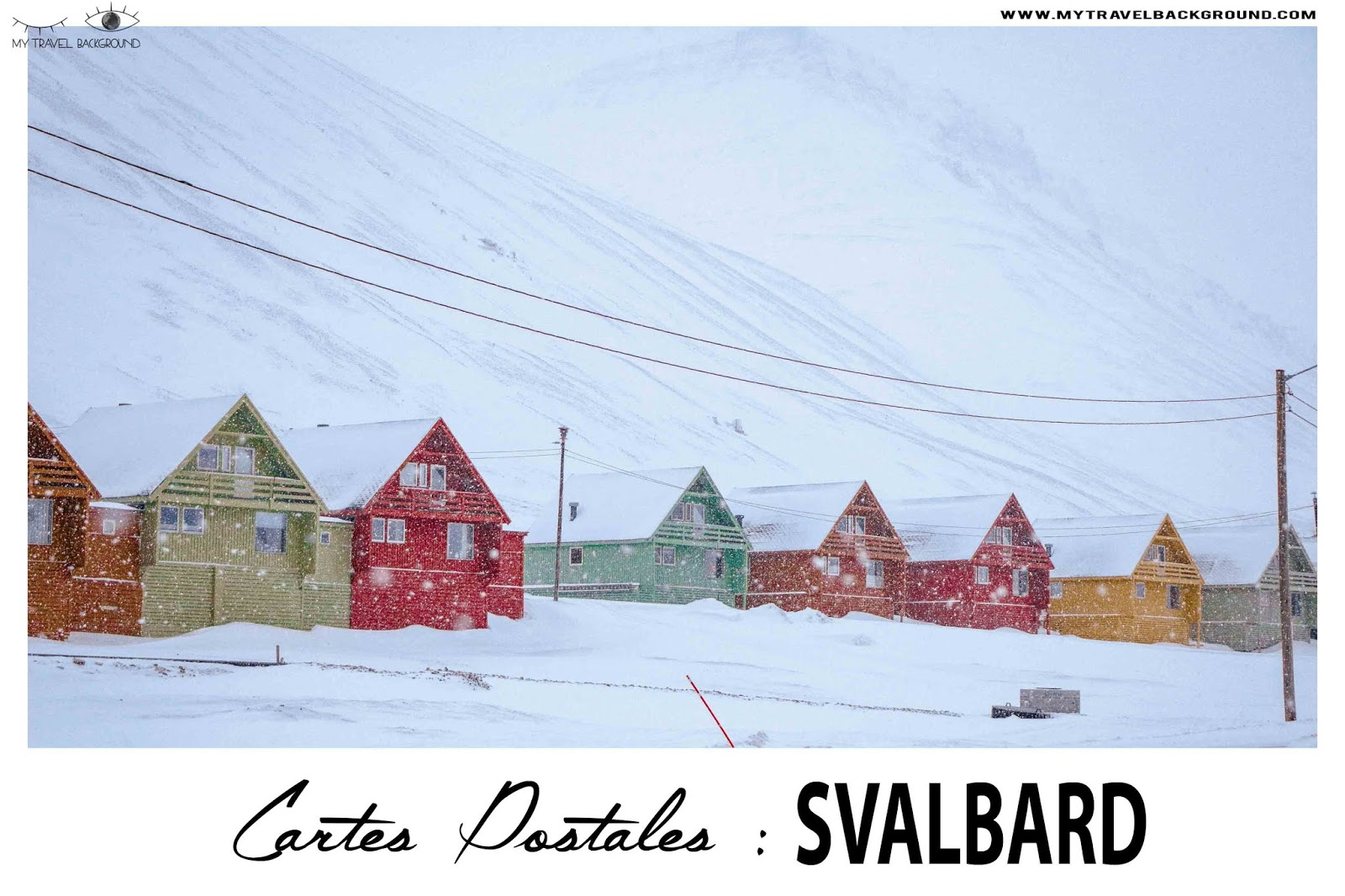 My Travel Background : cartes postales du Svalbard