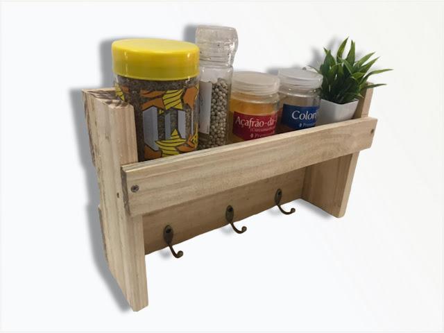 Porta Temperos Organizador Condimentos Cozinha