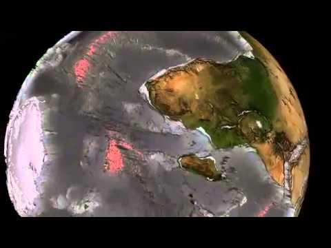 El agua se esta desviando hacia el interior de la tierra