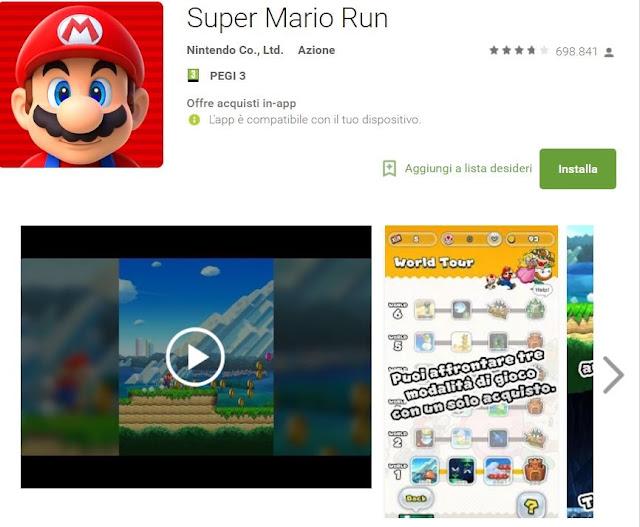 Trucchi Super Mario Run Mod Apk Android v2.0.1