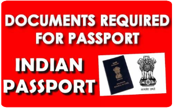 List of Documents Required for Fresh/Renew Passport application: