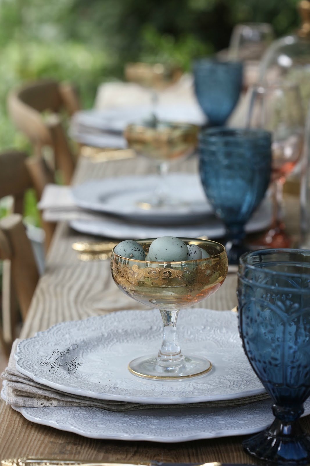5 ideas for a beautiful Easter table - FRENCH COUNTRY COTTAGE