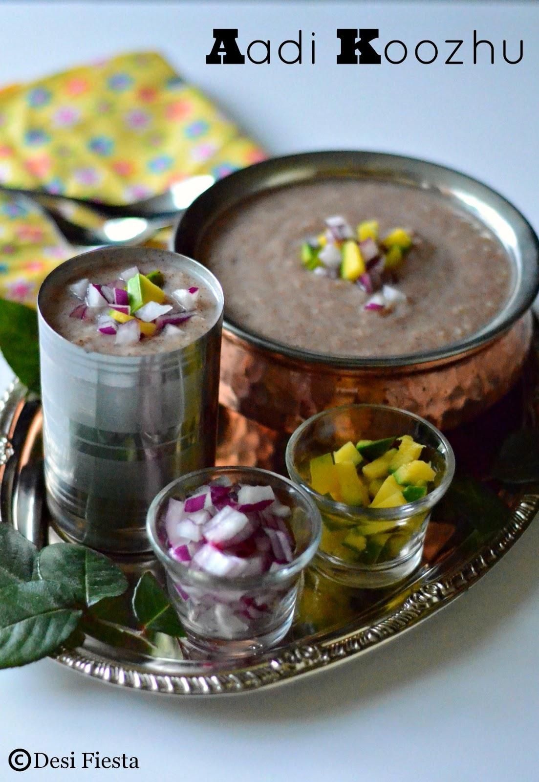 Aadi pandigai or aadi perukku recipes