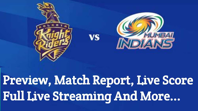 IPL 2020 Live: KKR vs MI Match 5 -  Preview, Score, Live Streming, Match Reoprt, Fantecy 11