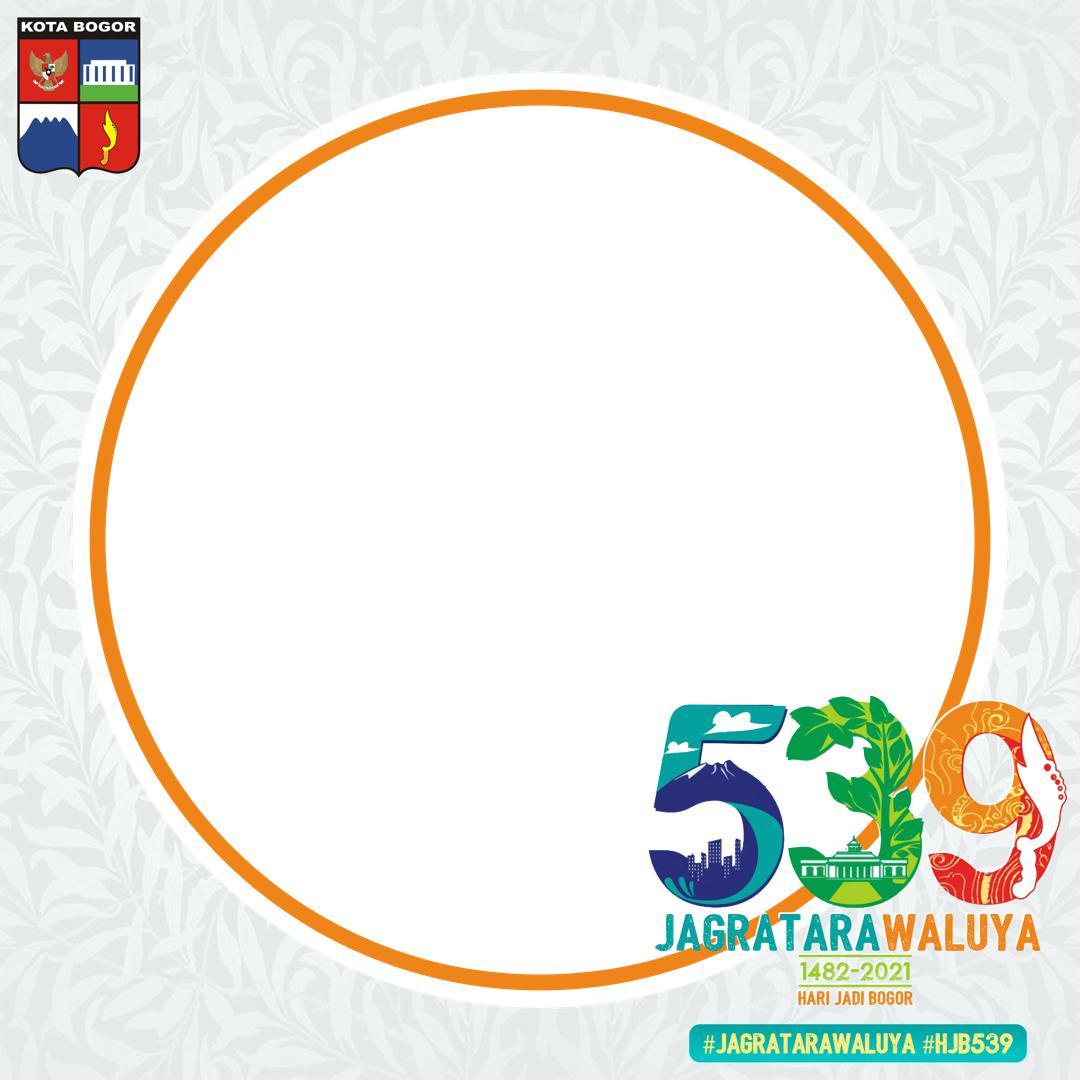 Link Download Twibbon Hari Jadi Kota Bogor ke-539 Tahun 2021 - HJB ke-539