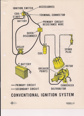One Wire Alternator Diagram Motor Wiring U V W The Care And Feeding Of Ponies: Mustang Ignition System 1965 1966