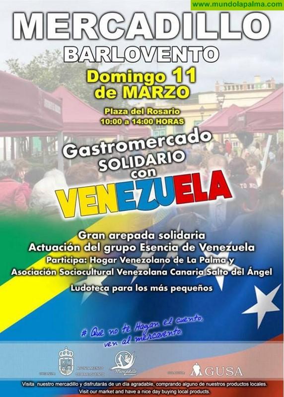 Mercadillo en Barlovento - Gastromercado solidario con Venezuela