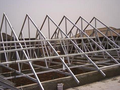 Rangka Atap Baja Ringan Yang Paling Bagus Pilih Mana Konstruksi Kayu Atau Ringan?