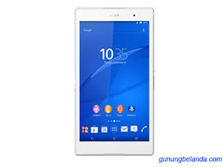 Cara Flashing Sony Xperia Z3 Tablet Compact WiFi SGP612