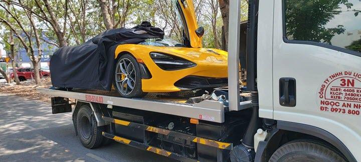 McLaren 720S Spider màu vàng chính thức thông quan với hàng loạt tùy chọn đắt tiền - Ảnh 3.
