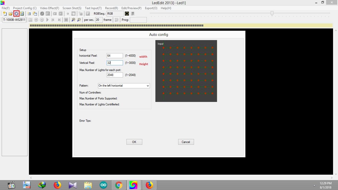 LED EDIT Software Tutorials Programming Pixel LED