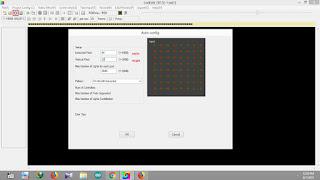 LED Edit Auto layout generator window
