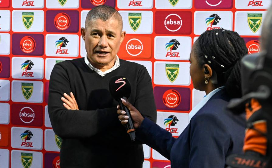 Former Black Leopards coach Cavin Johnson
