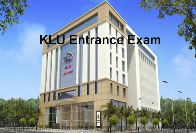 KLU Entrance Exam