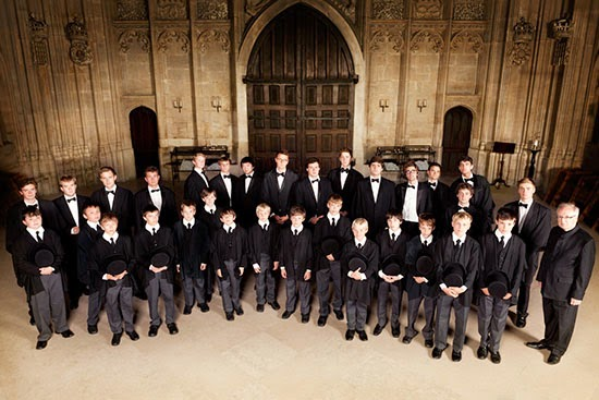 Nicholas Cleobury, Choir of Kings College, Cambridge