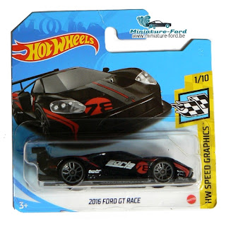Hot Wheels, 2016 Ford GT Race