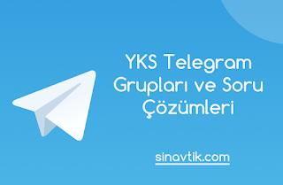 YKS Telegram Grupları ve Soru Çözümleri