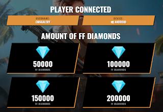 Gamethunks free fire unlimited diamond generator