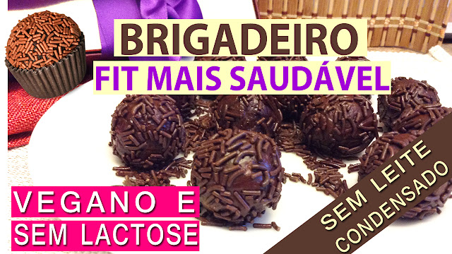 Brigadeiro Vegano Fit | Não precisa de Leite Condensado | Acessível a todos