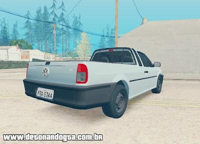GTA SA - Volkswagen Saveiro G3 1.6