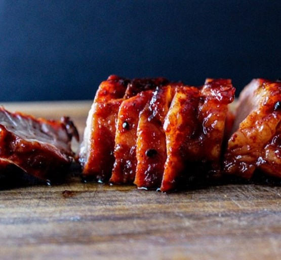 SWEET AND STICKY CHAR SIU (CHINESE BBQ PORK) #dinner #deliciousfood
