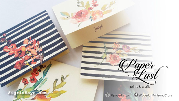 Paper Lust - wedding invitations - Bacolod wedding suppliers