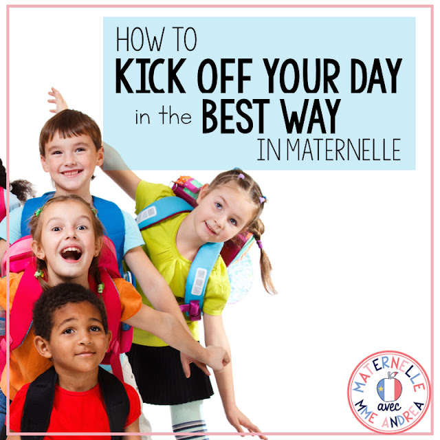 Looking for a way to get your maternelle day started on the right foot? Try this technique to have your students sharing their feelings and speaking French, right from the get go! #maternelle #frenchteachers #communicationorale