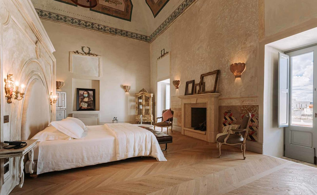 Palazzo Rosso is reborn as boutique hotel Paragon 700