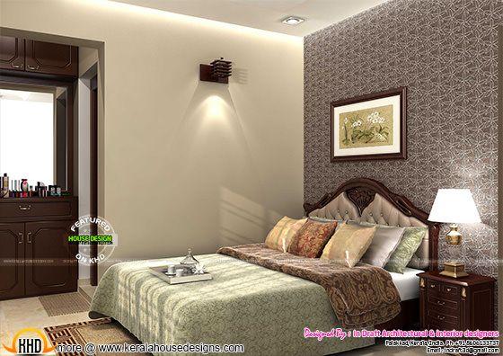 Bedroom interior palakkad