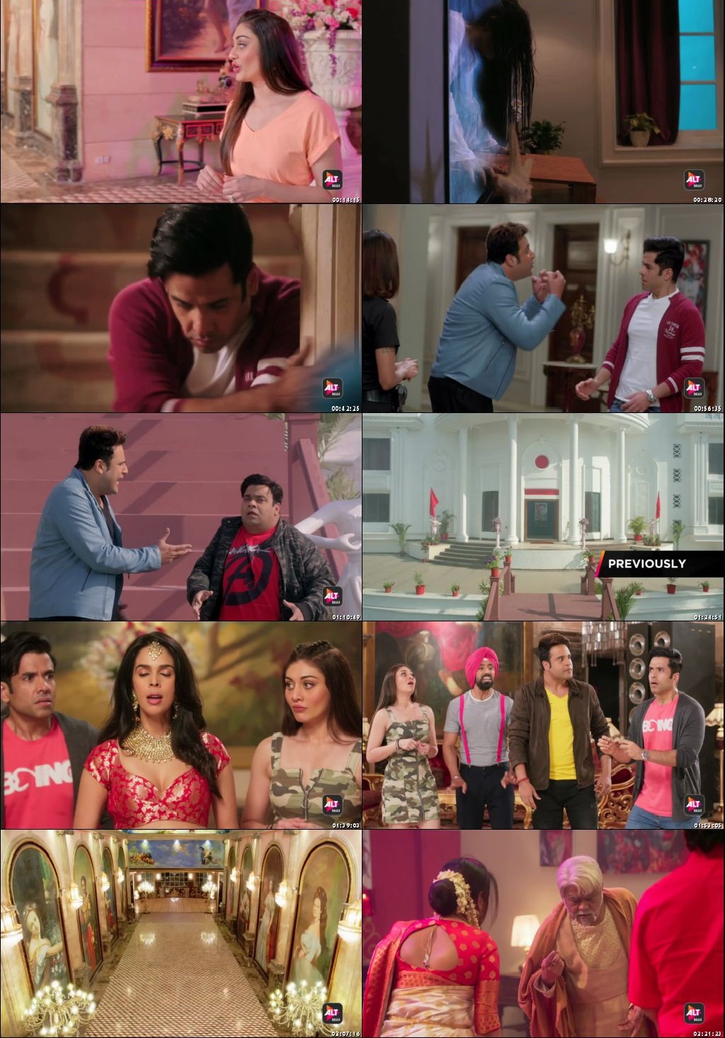 Screenshots Of Hindi Show Booo: Sabki Phategi Season 01 2019 Complete - All Episodes 300MB 480P HD