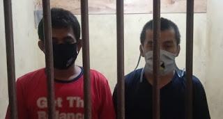 Dua Pelaku Pencuri Kabel PT CBL Ditangkap Polsek Limau