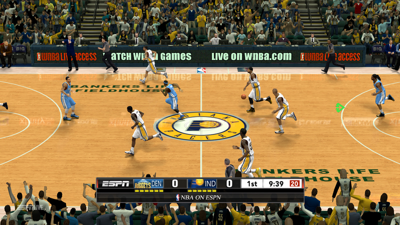 NBA 2K13 New ESPN Scoreboard with 3D Logos Mod NBA2KORG