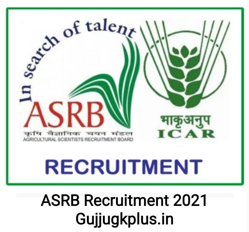 Agriculture Research Services Board Recruitment for 222 Posts, 2021 : Find All Details here
