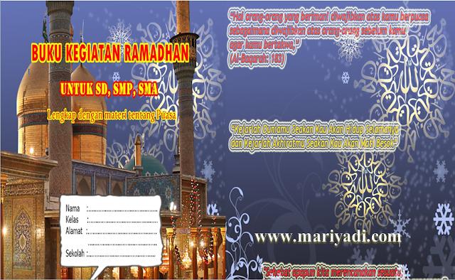 Free Download Buku Kegiatan Ramadhan 2020 SD SMP SMA Lengkap dengan Panduan Kegiatan Siswa di Bulan Ramadhan