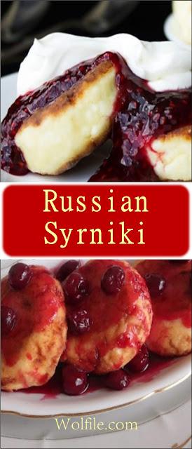 Russian Syrniki Recipe #Dessert #Cheese #cake