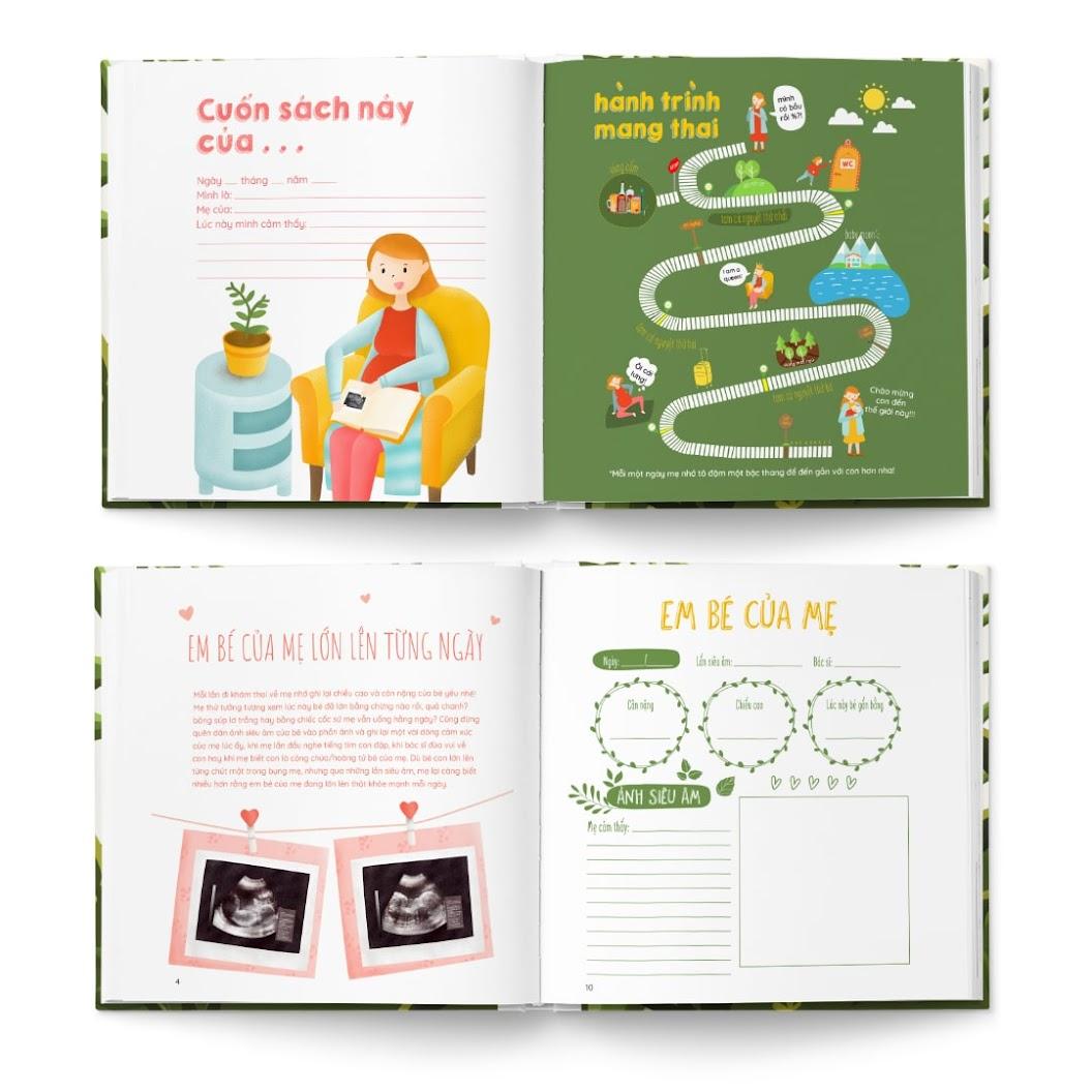 [A116] Activity book: Combo sách thai giáo hữu ích cho Mẹ Bầu