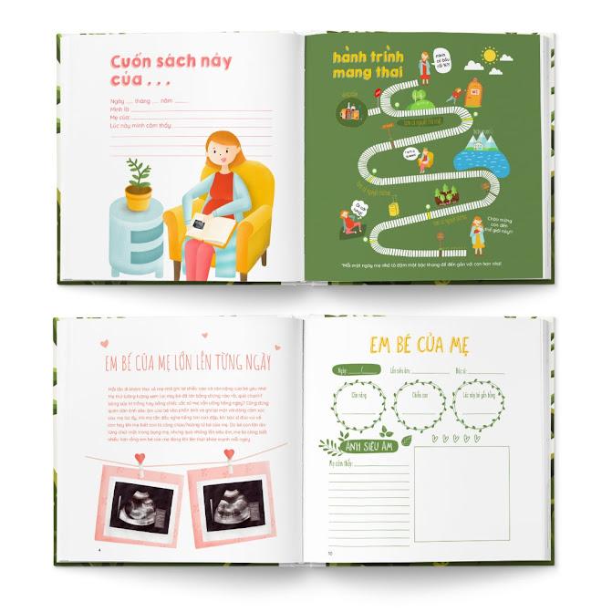[A116] Sách hay về mang thai giúp Mẹ thư giãn, Con thông minh