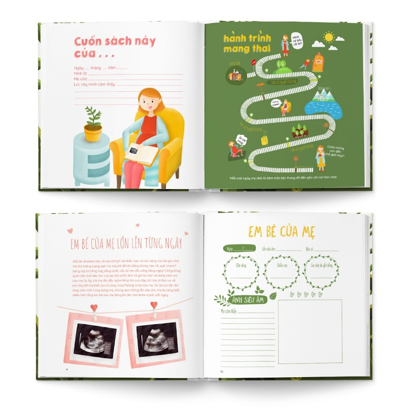 [A116] Bộ sách Mẹ Bầu nhất định phải có trong thai kỳ.