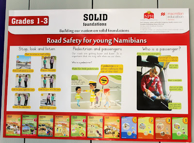 Promotional Poster on Road Safety for Grades 1-3