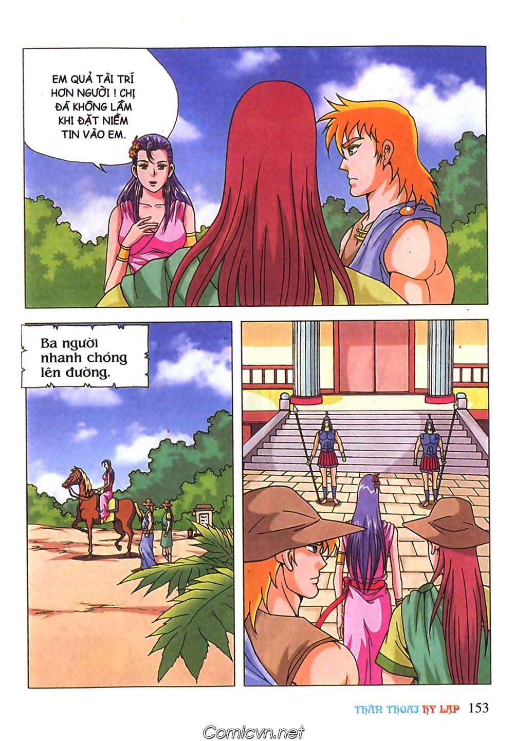 Thần Thoại Hy Lạp Màu - Chapter 71: Nàng Ê lếch tơ 2 - Pic 4