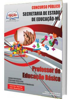 Apostila Concurso SED-MS 2018 Professor de Educação Básica
