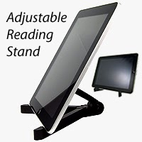 Fold-Up Reading Stand for Kindle, Kindle Fire, Apple iPad, Galaxy Tab, and Other Tablets £4.08 and $7.63