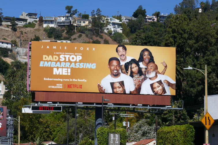 Dad Stop Embarrassing Me season 1 billboard